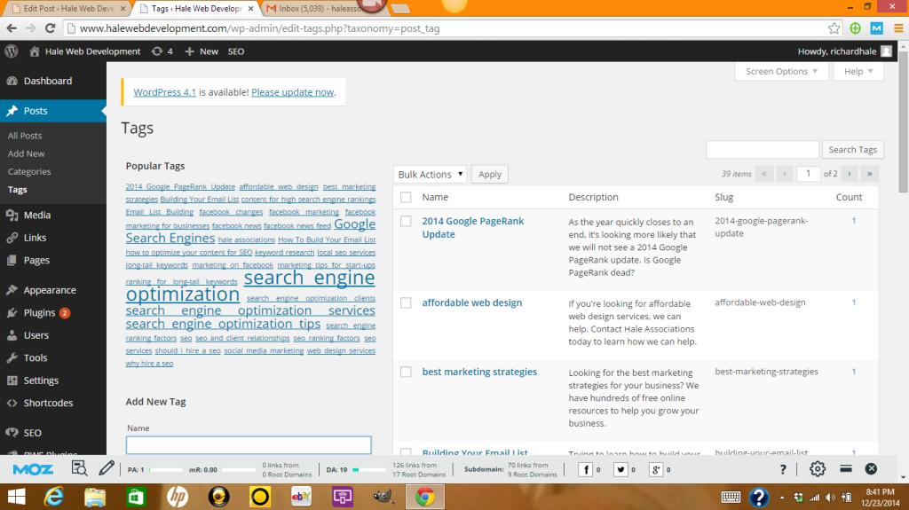 Optimizing Your Tags In WordPress