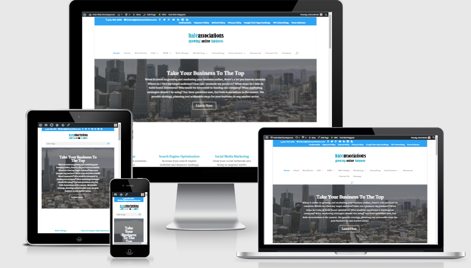 Web Design Hale Associations