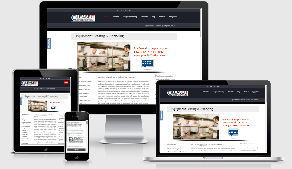 Hale Associations Web Design LeaseIt Corp