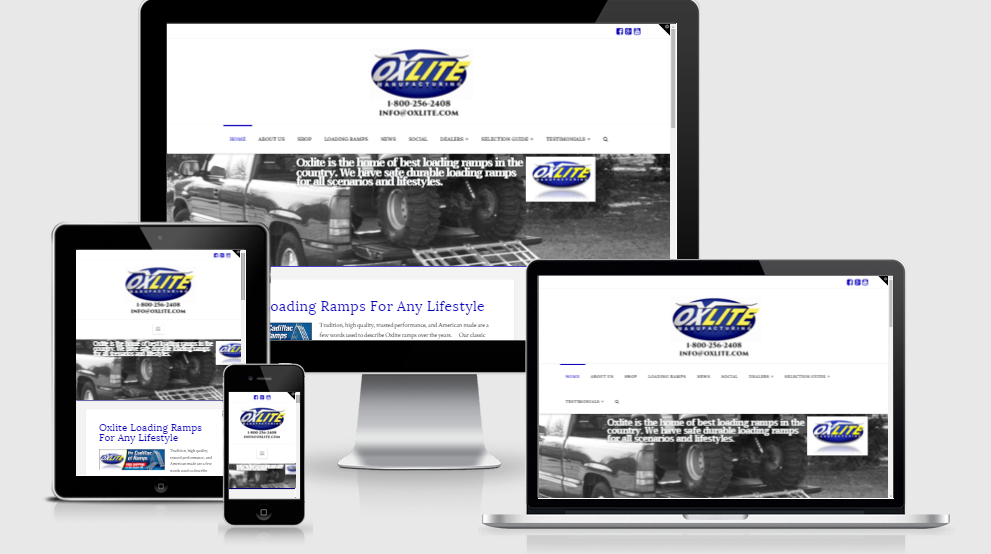 Hale Associations Web Design Oxlite