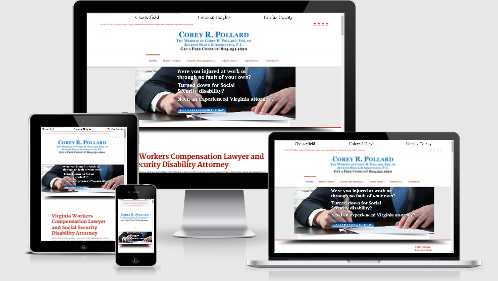 Hale Associations Web Design Corey Pollard Law