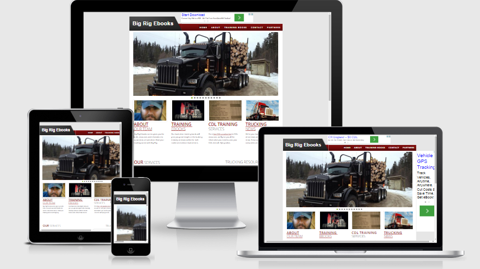 Hale Associations Web Design Big Rig Ebooks