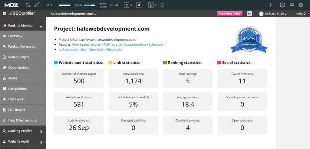 SEO Ranking Monitor Tool